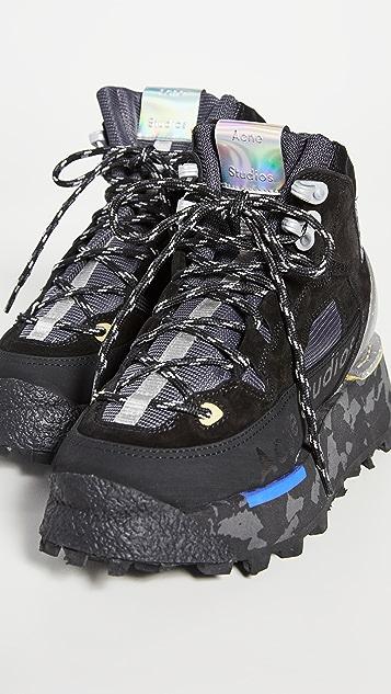 Acne Studios Trekking Sneaker Boots