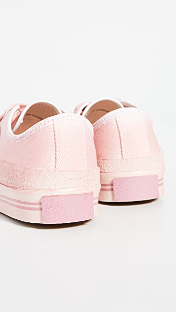 Acne Studios Logo Patch Dip Dye Sneakers