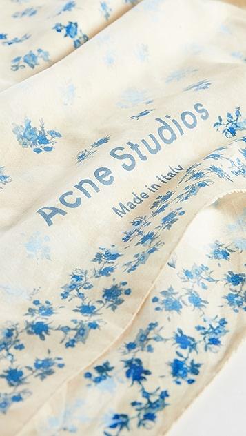Acne Studios Vada 围巾