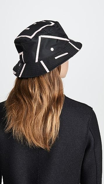 Acne Studios Nylon 桶形帽子