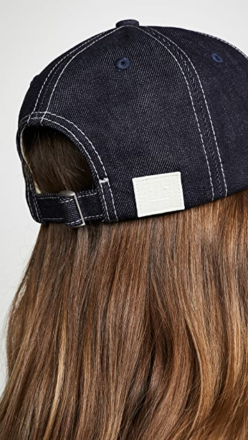 Acne Studios Denim Baseball Hat