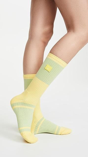 Acne Studios 面孔罗纹袜子