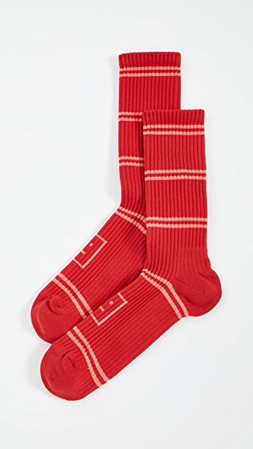 Acne Studios Face Socks Rib