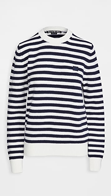 Acne Studios Kalon Stripe Face Knitwear