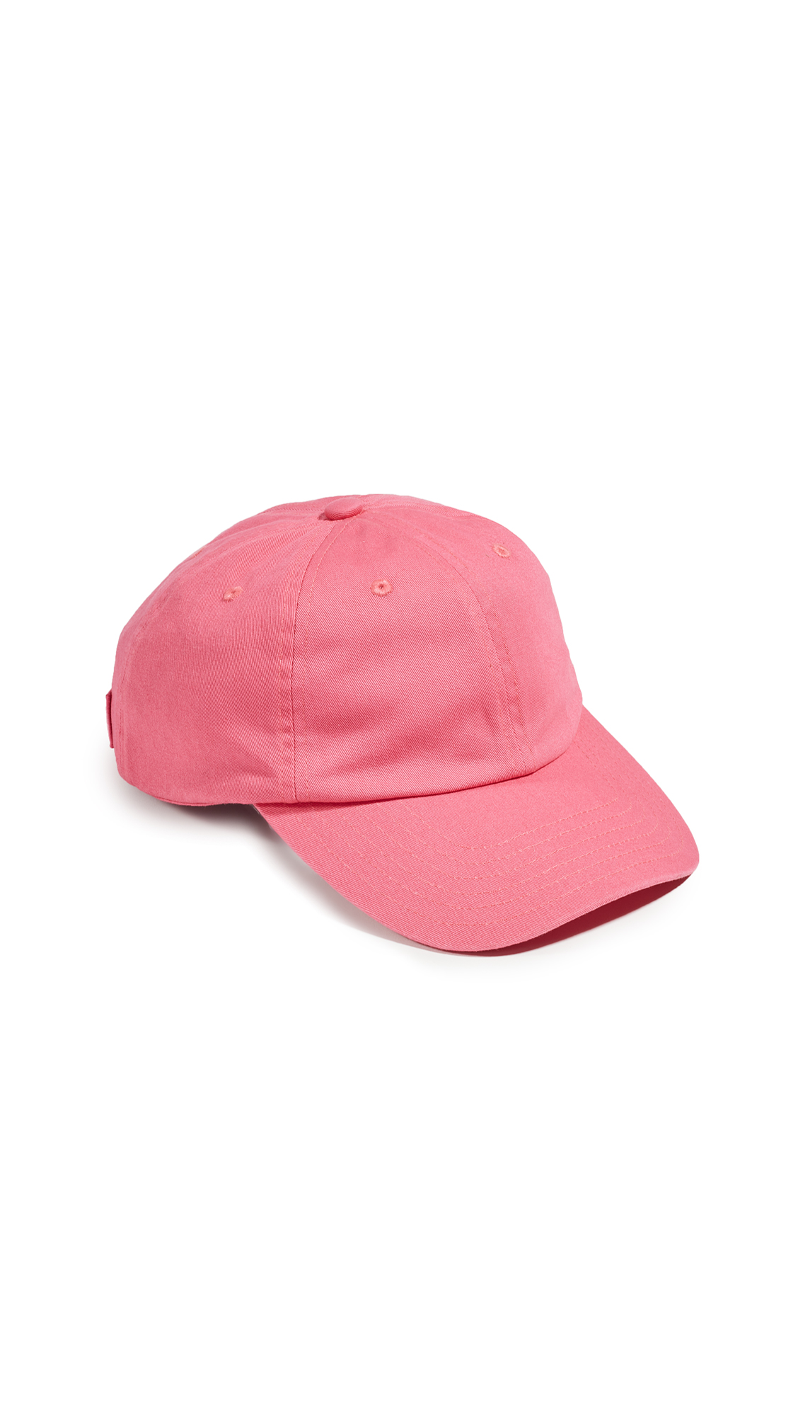 Acne Studios Cunov Patch Face Baseball Hat