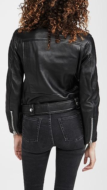 Acne Studios Mock Leather Outerwear