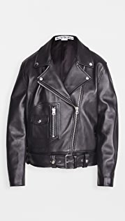 Acne Studios New Merlyn Leather Outerwear