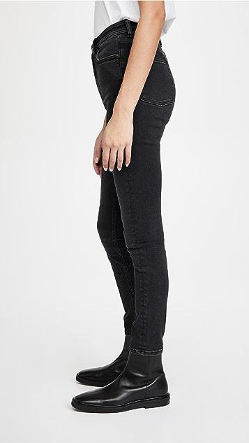 Acne Studios Peg Used Black Jeans
