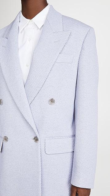 Acne Studios Jiselle Jumbo 斜纹织物西装夹克