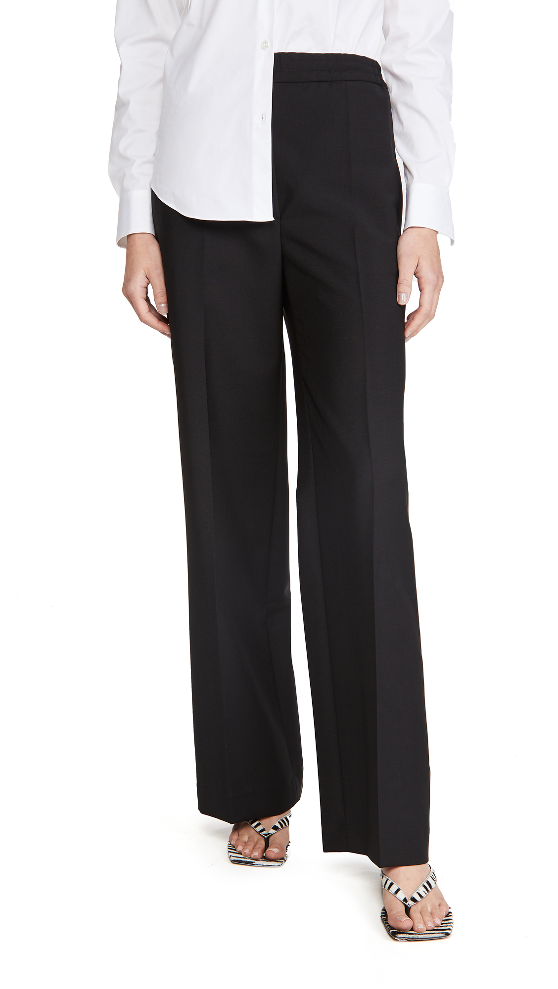 Acne Studios Paminne Wool Trousers