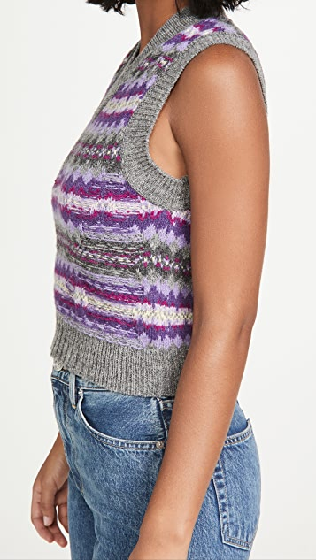 Acne Studios Korina 费尔岛风格印花毛衣