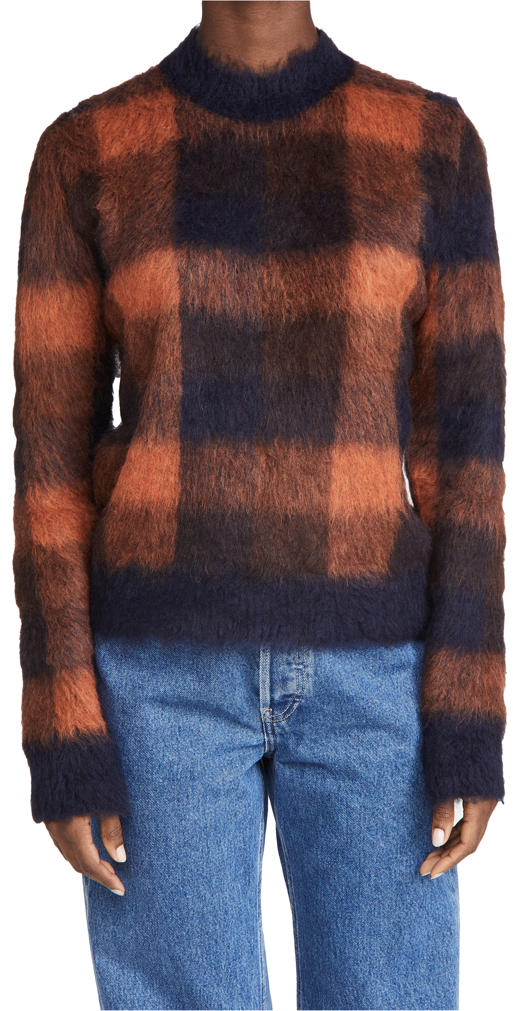 Acne Studios Kanya Check Sweater