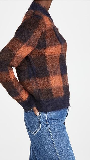 Acne Studios Kanya 格纹毛衣