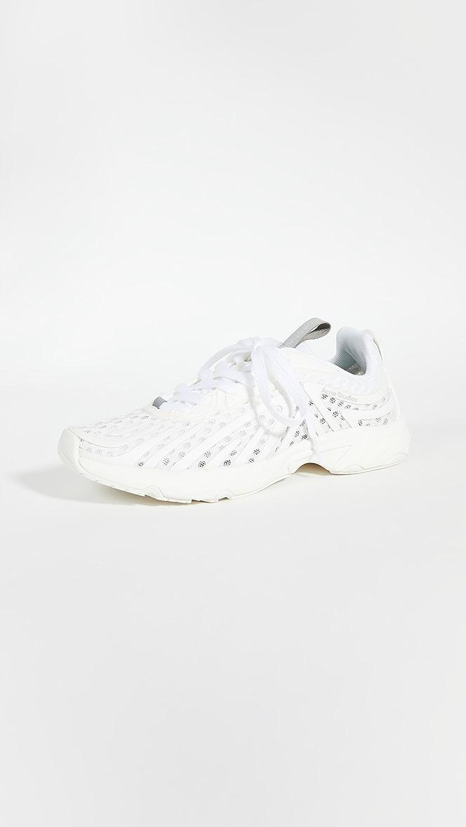 Acne Studios Buzz Mesh Sneakers