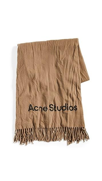 Acne Studios Canada Crinkled Scarf