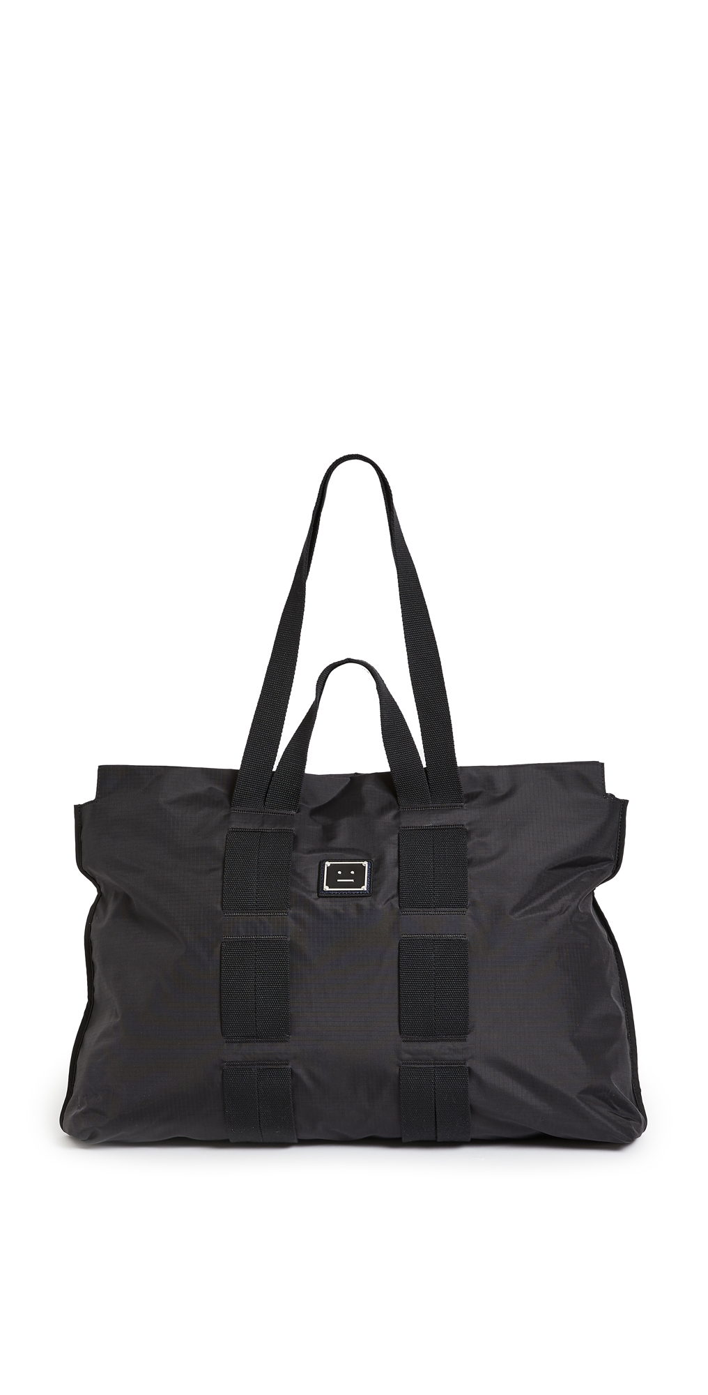 Acne Studios Arvid Plaque Face Large Tote