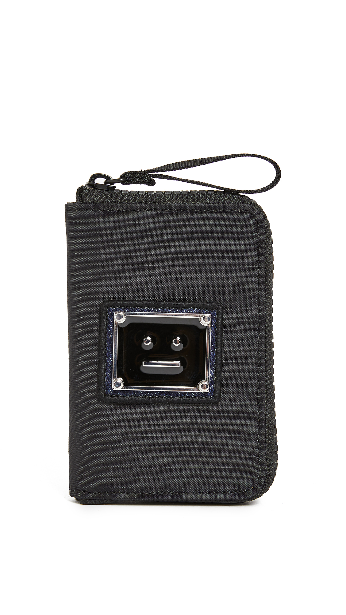 Acne Studios Acton Plaque Face Wallet