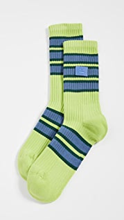 Acne Studios Face Rib Socks