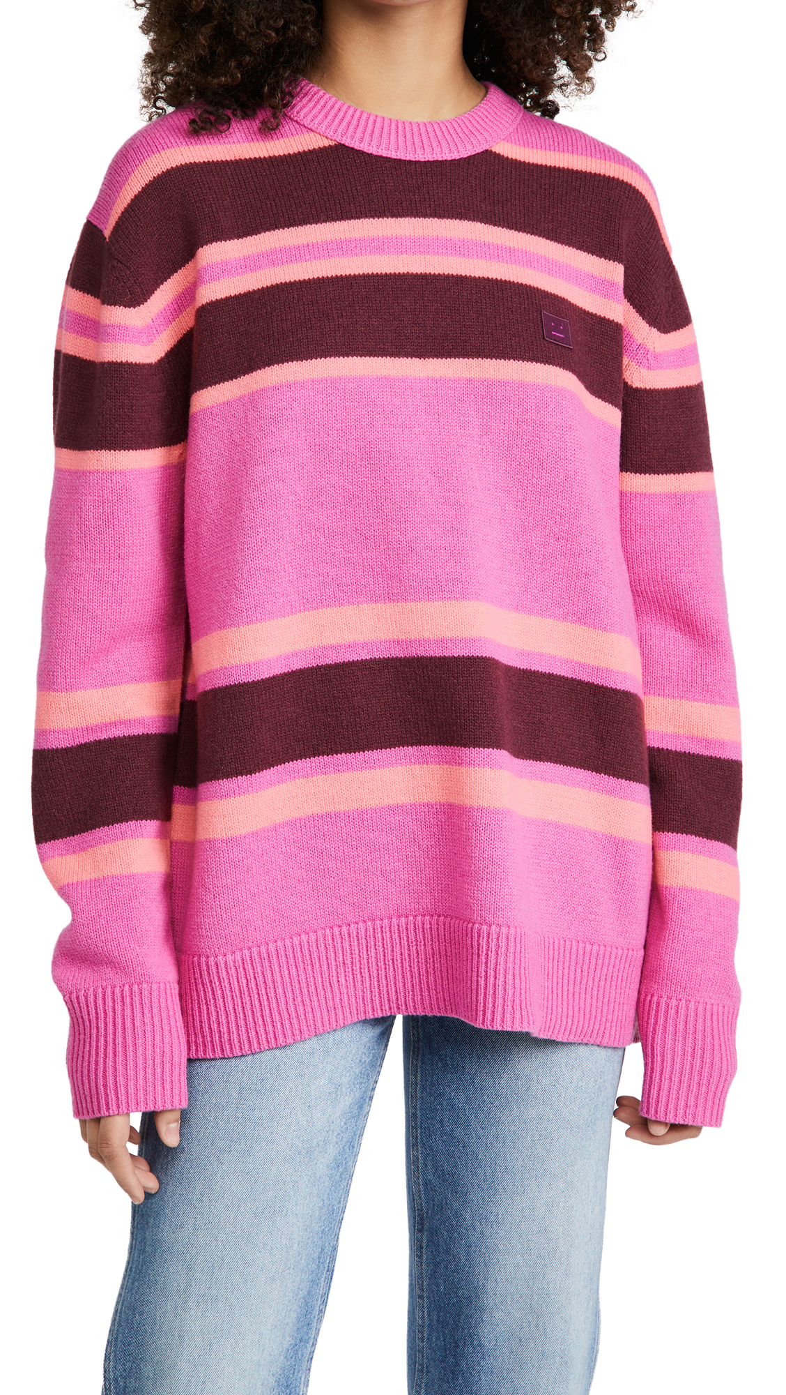 Acne Studios Nimah Block Striped Sweater