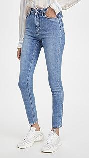 Acne Studios Peg Soft 超蓝色牛仔裤