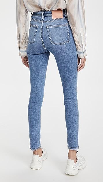 Acne Studios Peg Soft Super Blue Jeans