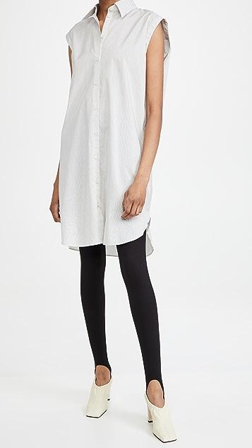 Acne Studios 条纹衬衣连衣裙