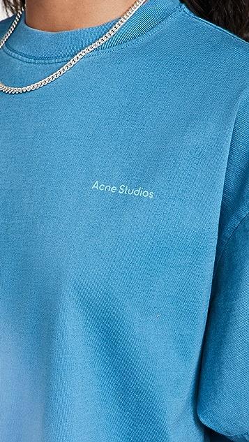 Acne Studios 渐变色 T 恤