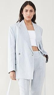 Acne Studios Belted Suit Jacket