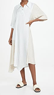 Acne Studios Check Print Dress