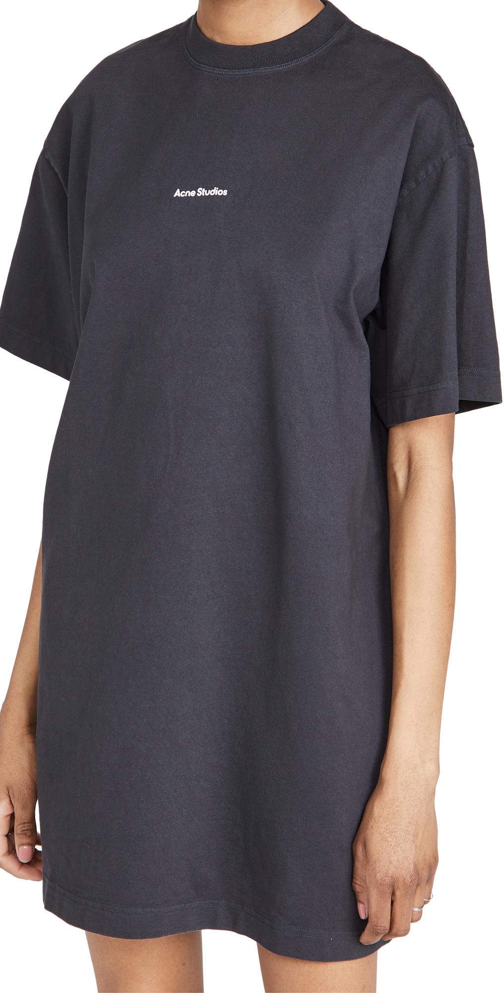 Acne Studios Cotton T-Shirt Dress