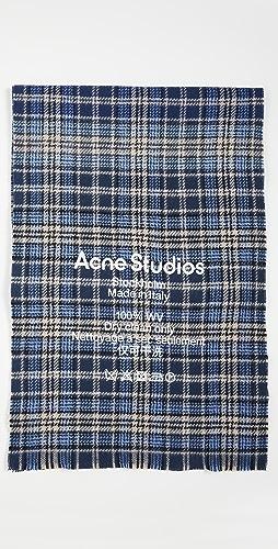 Acne Studios - Plaid Scarf