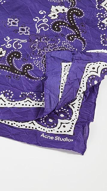 Acne Studios Paisley Bandana