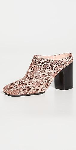 Acne Studios - 高跟穆勒鞋