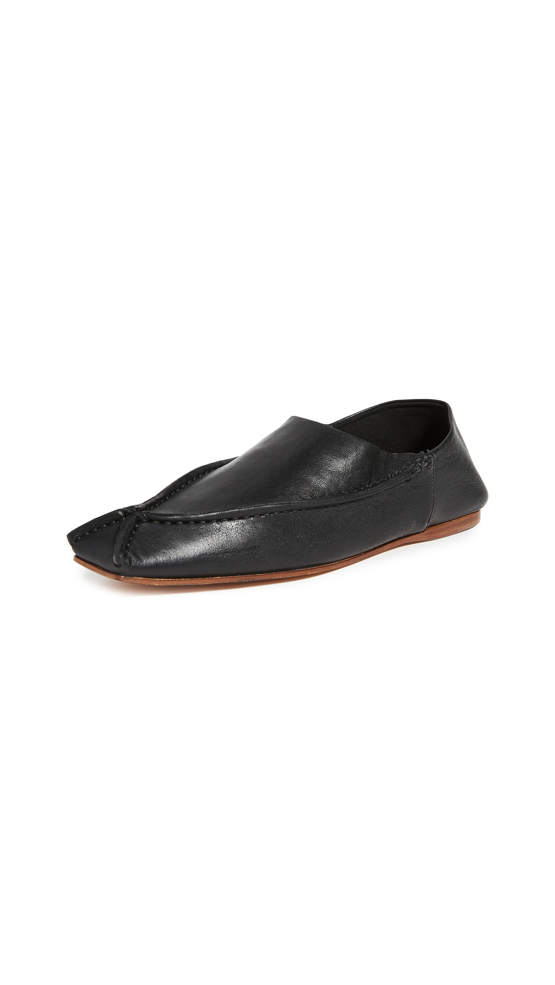 Acne Studios Leather Flats
