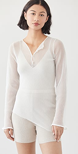 Acne Studios - Transparent Long Sleeve Shirt