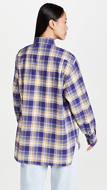 Acne Studios 法兰绒衬衣