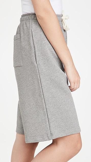 Acne Studios Fleece Sweat Shorts
