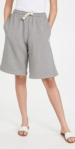 Acne Studios - 绒布运动短裤