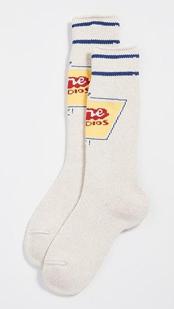 Acne Studios 徽标袜子