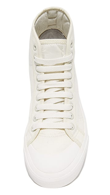 Adidas x Raf Simmons Spirit High Top Sneakers
