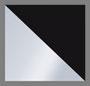 черный/серебристый металлик
