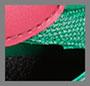 Розовый/зеленый Adidas/черный