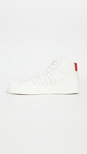 adidas x 424 Promodel 80's High Top Sneakers