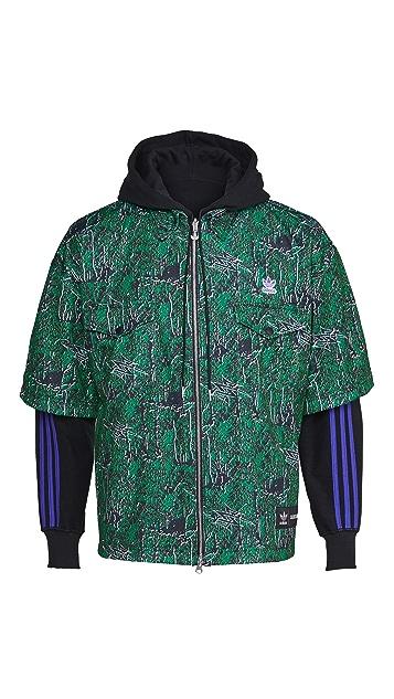 adidas x SANKUANZ Reversible Shirt Hoodie