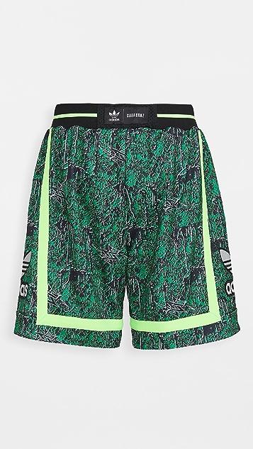adidas x SANKUANZ Reversible BB Shorts