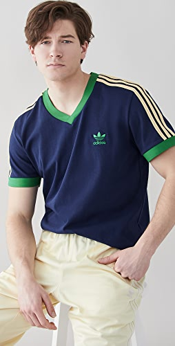 adidas - x Wales Bonner 70s V Neck Tee