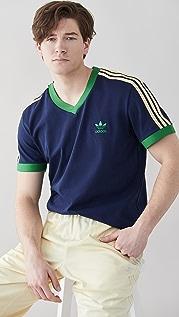 adidas x Wales Bonner 70s V Neck Tee