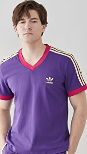 adidas x Wales Bonner 70s V Neck Tee