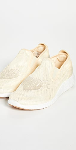 adidas - x Human Made Race Slip-On Pure Sneakers