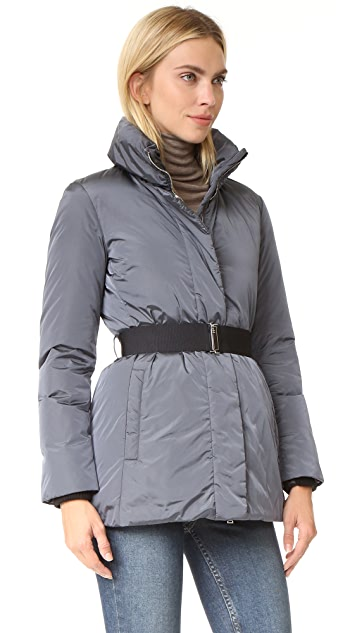 Add Down Down Jacket with Fur